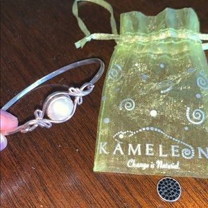 Kameleon Bracelet with Two Interchangeable Charms